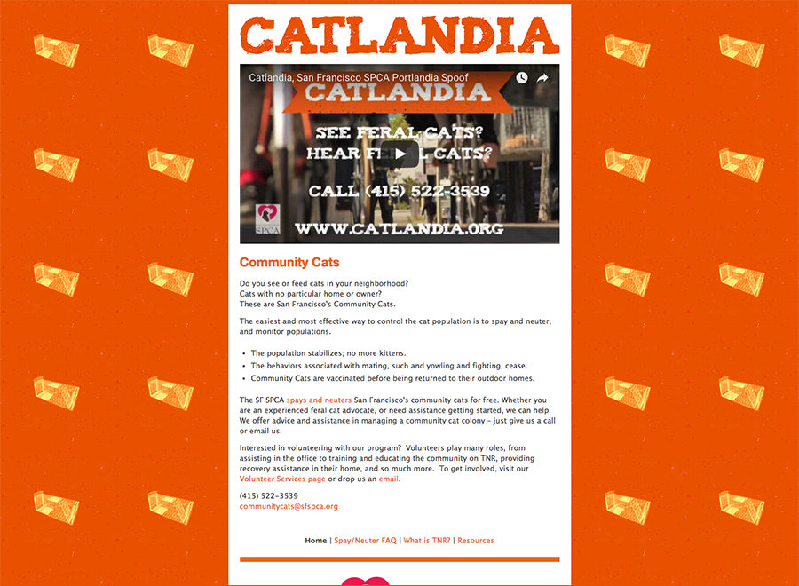 Catlandia website